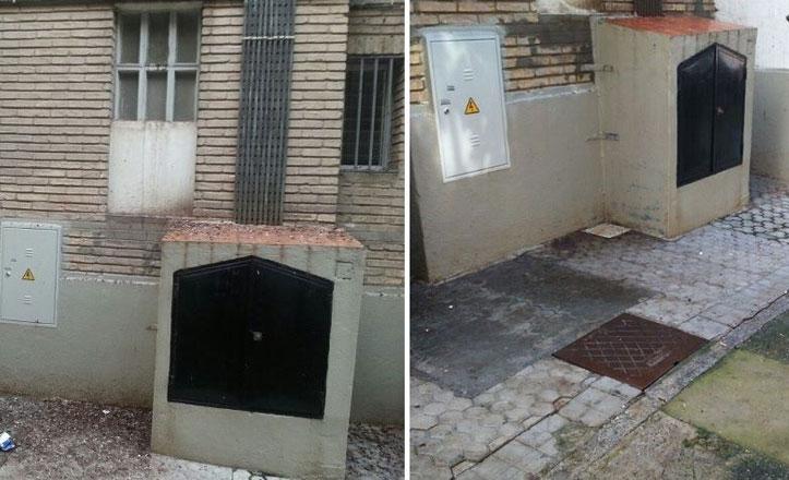 San Pablo-Santa Justa incrementa la limpieza de excrementos de palomas