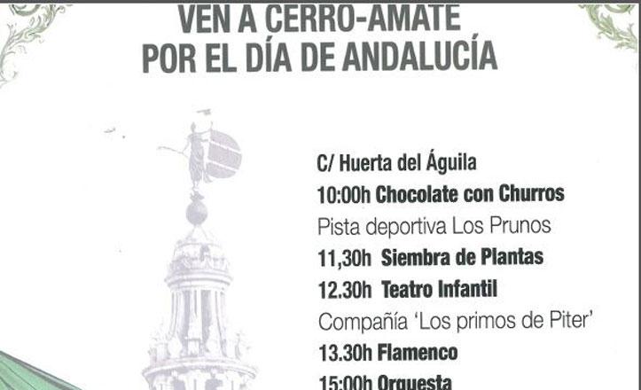 Celebración del Día de Andalucía en el Cerro-Amate