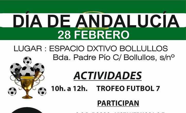 Día de Andalucía en la barriada Padre Pío