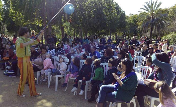 El Parque Amate acoge la obra de teatro «Los primos de Peter»
