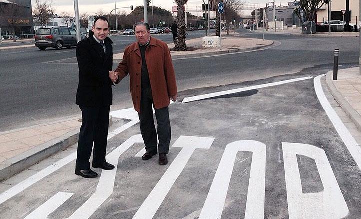 El Ayuntamiento concluye las obras de acceso a las torres de Jardines de Hércules