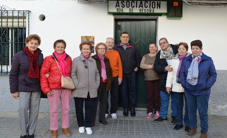 Asociación de vecinos de la barriada de Begoña: premio Macareno del año
