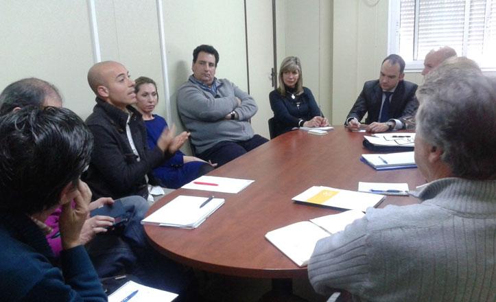 Edificios Municipales se reúne con los directores de colegios de Bellavista