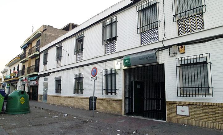 Actual centro de salud de la calle Torremegía, en Torreblanca / J.M. Serrano