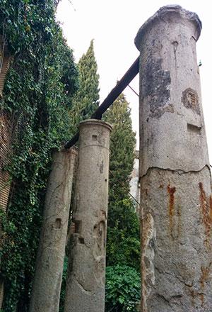 Columnas de la calle Mármoles