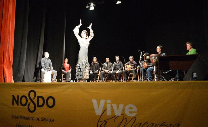 Flamenco y poesía en el Teatro Virgen de los Reyes