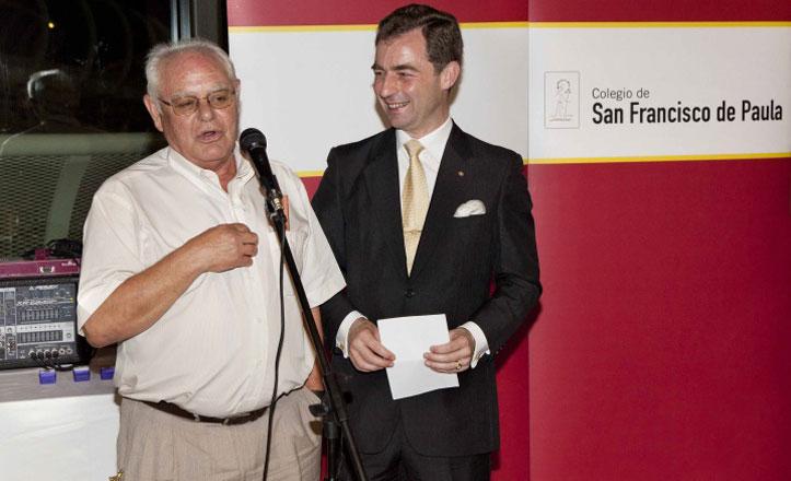 Francisco Luque, cuarenta años enseñando en el San Francisco de Paula