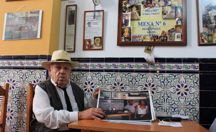 Fallece Juan Vizcaíno, uno de los fundadores de la Taberna Miami