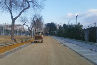 Las obras en Paseo Remeros de Sevilla finalizarán en febrero