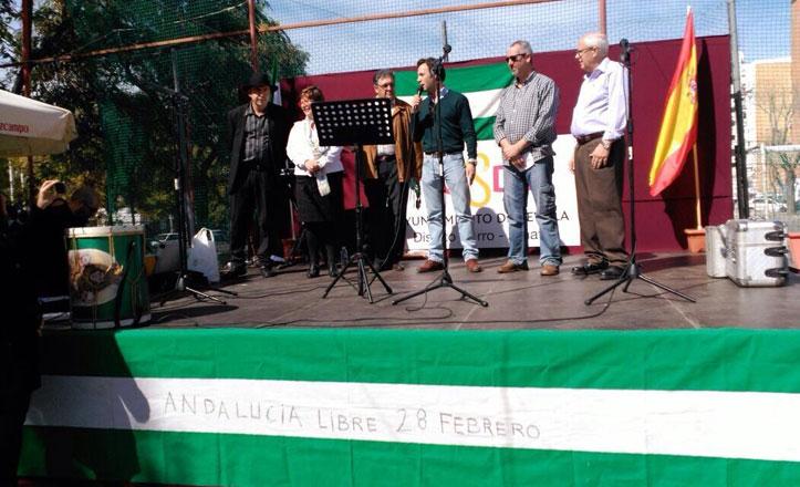 Las barriadas del Cerro-Amate celebran el Día de Andalucía