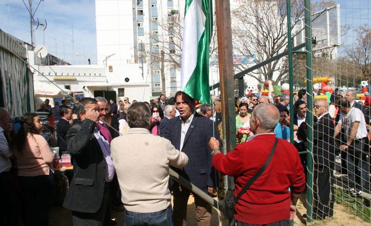 San Pablo-Santa Justa celebra el Día de Andalucía en la barriada El Zodiaco