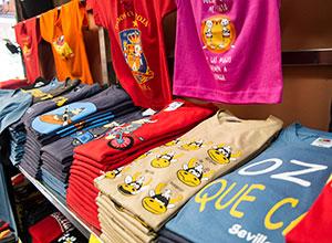 Camisetas Souvenir Sevilla