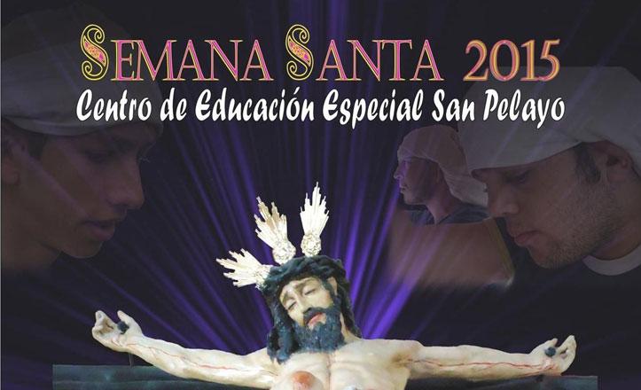 Salida procesional de los niños del Colegio San Pelayo el 27 de marzo