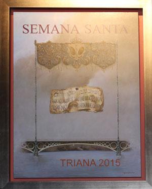 Una imagen «simbólica» para anunciar la Semana Santa de Triana 2015