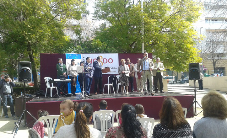 Festividad del Día de Andalucía en el distrito Bellavista-La Palmera