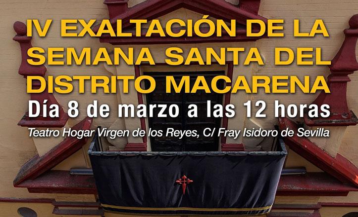 Exaltación de la Semana Santa del Distrito Macarena