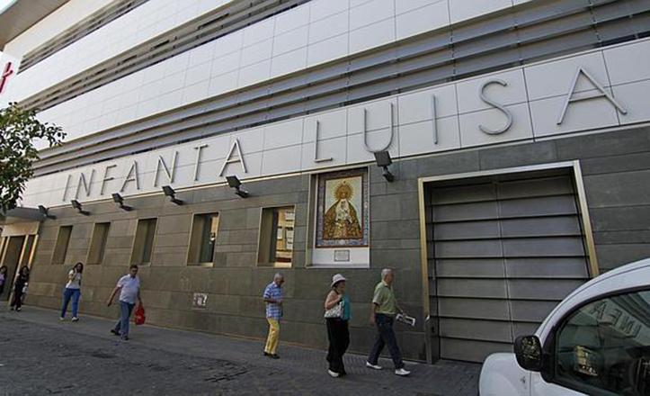 La clínica Infanta Luisa, antigua Cruz Roja de Triana, fue el lugar donde Pepe Márquez reanimó tras 21 intentos