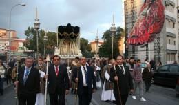 La Humildad del Polígono desafió a la lluvia y procesionó ante sus fieles