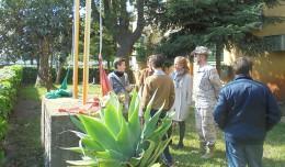 Izado de bandera con motivo del Día de Andalucía en Los Remedios