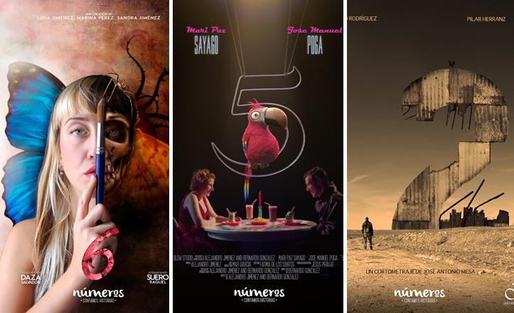 Posters de la serie «Números»
