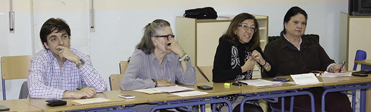 Cuatro de los siete vocales y portavoces del Partido Popular en la sesión de marzo / Fran Piñero