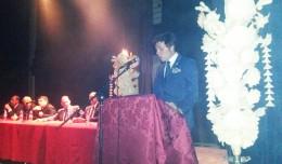 José Javier Veira en el pregón de Bellavista-La Palmera