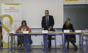 Presidencia de la Junta Municipal, con el delegado Rafael Belmonte /F.P.