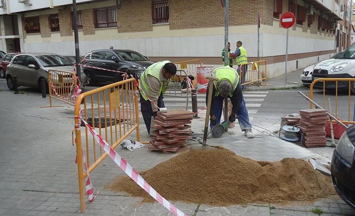Nuevo rebaje en la calle Florencio Quintero