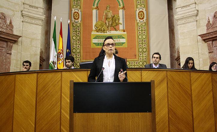 Macarena Álvarez, alumna de la Pablo de Olavide, premiada en la X SIPA