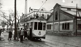 Los tranvías que pasaron por la Macarena