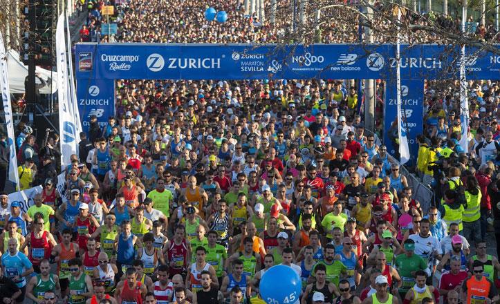 El Maratón de Sevilla ya cuenta con más de 2.500 corredores inscritos