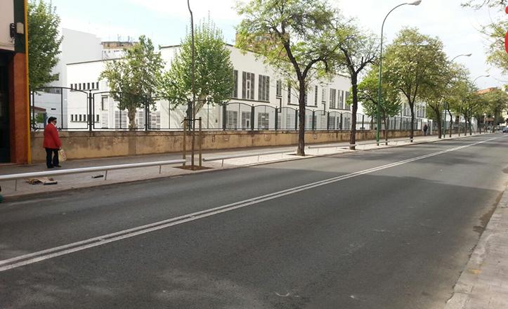 La calle Arroyo tras las obras finalizadas en abril de 2015