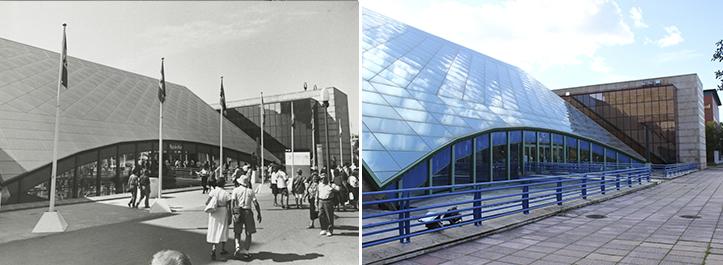 La Plaza de África, hoy sede de la CEA, es uno de los edificios de la Expo 92 que mejor se conservan / Archivo - F. Piñero
