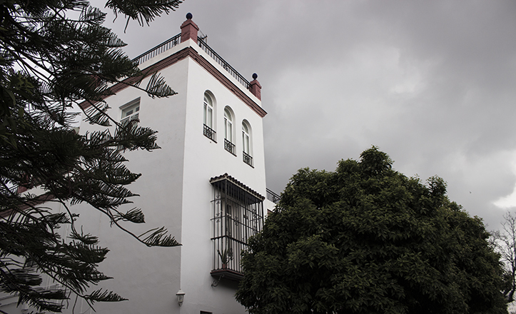 Torreón de un chalet de Heliópolis / Fran Piñero