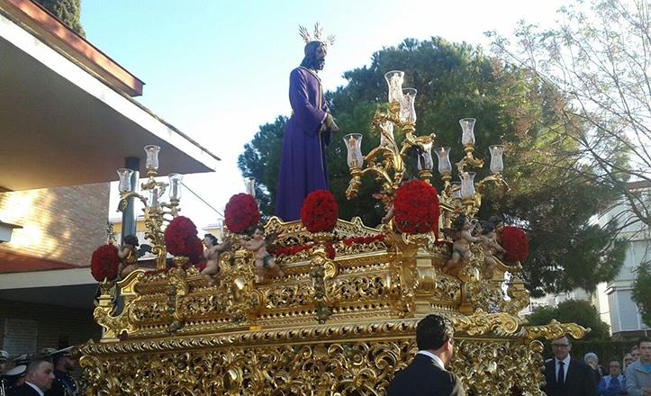 Nuestro Padre Jesús Cautivo de la Parroquia de Las Flores