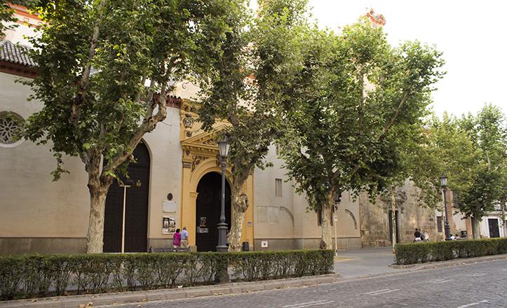 La extinta iglesia de la Magdalena se encontraba en lo que hoy es la plaza de San Pablo / Fran Piñero