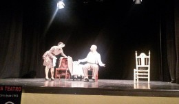 Los Álvarez Quintero en el teatro Virgen de los Reyes