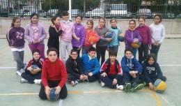 Alumnos de Nodo Sport en el Polígono de San Pablo