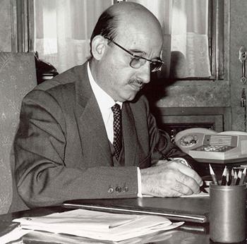 Claudio Boada, director gerente de la S.A.C.A entre 1953 y 1956 / Archivo INI