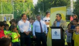 Inaugurado el nuevo campo de fútbol 7 del Club Santa Clara
