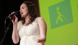 María Asencio, ganadora del III Concurso Musical de la ONCE Andalucía