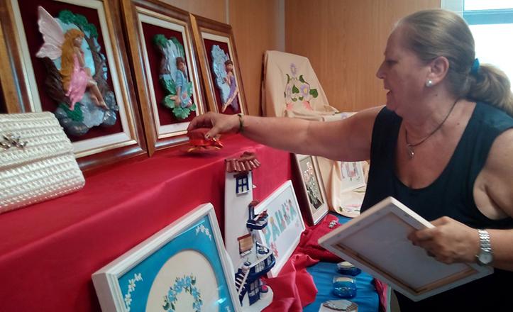 Exposición de talleres del Distrito Macarena