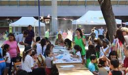 Fiesta de la Familia en el Pabellón de Deportes de San Pablo