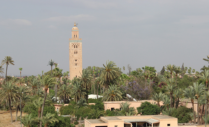 La Koutoubia de Marrakech sirvió de modelo para la primitiva Giralda sevillana / Fran Piñero