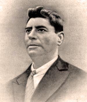 Retrato del cantaor Manuel Torre