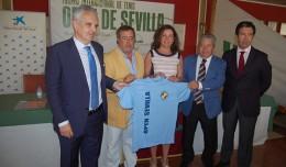 Presentación del 24º Open internacional de tenis de Sevilla