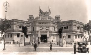 El Pabellón de México, el único edificio neoindigenista de Sevilla