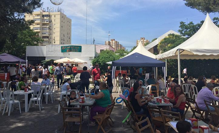 III Festival solidario de Brotes, en la plaza del Encuentro