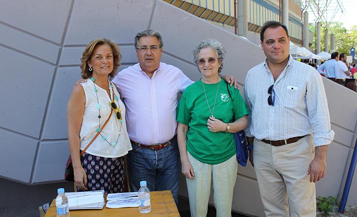 Dolores De Pablo-Blanco, Juan Ignacio Zoido, Sor María José Cabet y Jaime Ruiz / Fran Piñero
