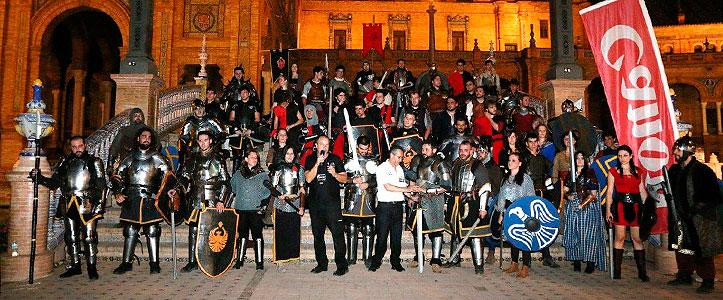 Batalla medieval en Photoquivir